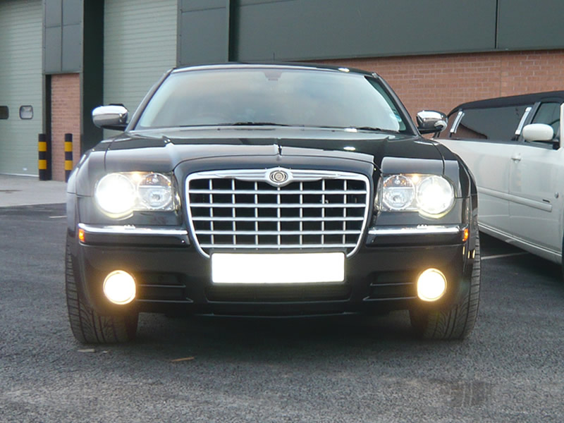 Chrysler 300 White >> Chrysler 300 chauffeur car hire from Big Slo Limo Co. Ltd. Providing chauffeur driven cars for ...