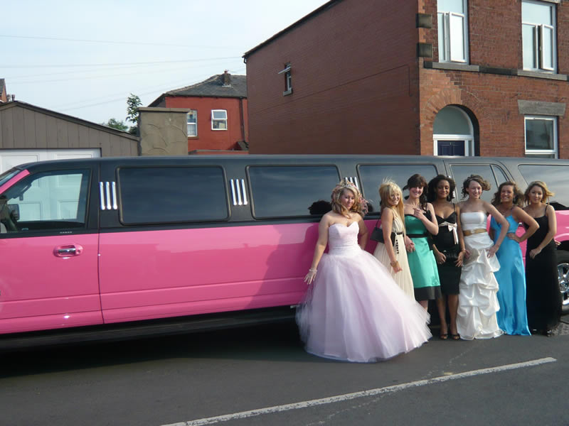 c069c5a5f25 Pink limousines for hire from Big Slo Limo Co. Ltd. Fleet includes ...