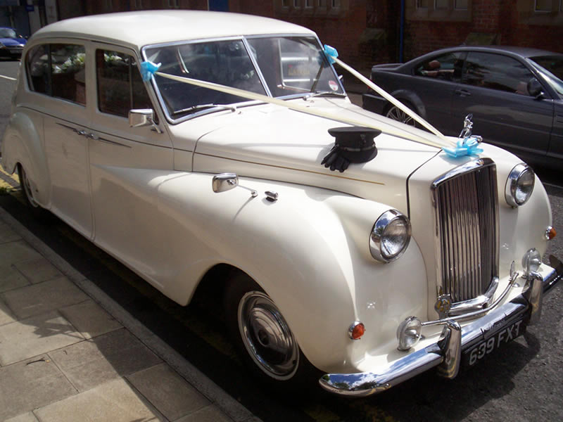 Austin Princess vintage wedding car, available for hire in ...