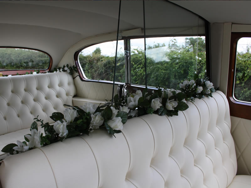 Austin Princess Vintage Wedding Car Available For Hire In
